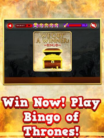 Bingo of Thrones 7 Kingdoms Board Game Free screenshot 10
