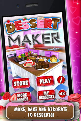 Dessert Maker Games - Make & Bake Desserts! - náhled