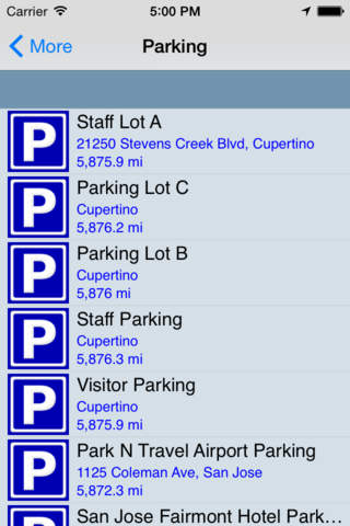Parking - náhled