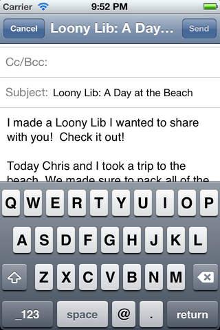 Loony Libs - náhled