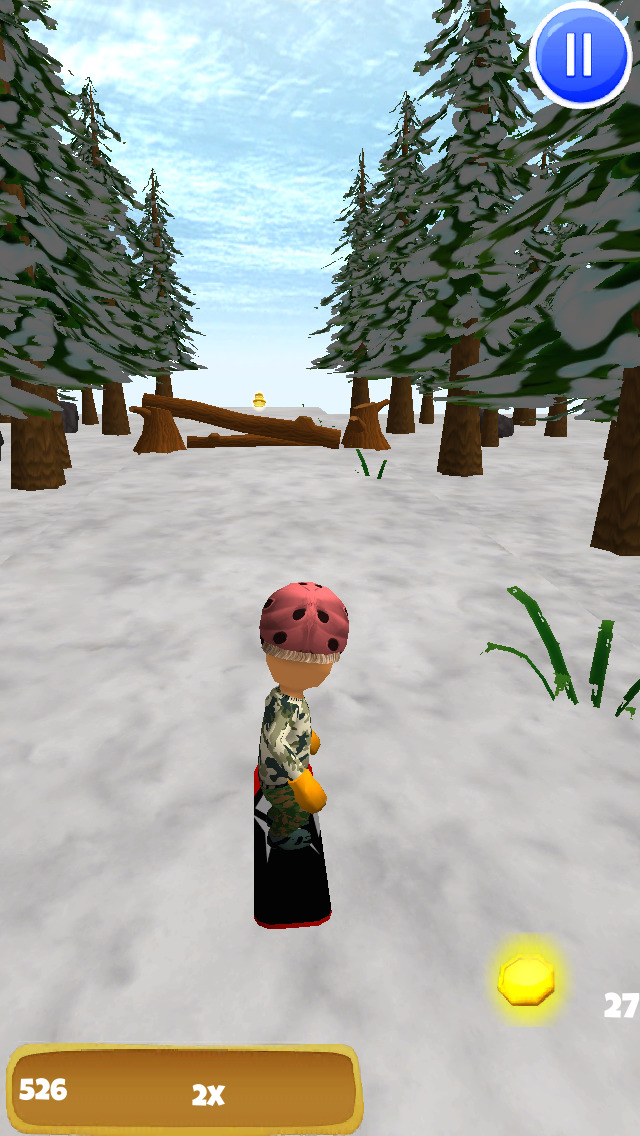 A Freestyle Snowboarder: Extreme 3D Snowboarding Game - FREE Edition screenshot 4
