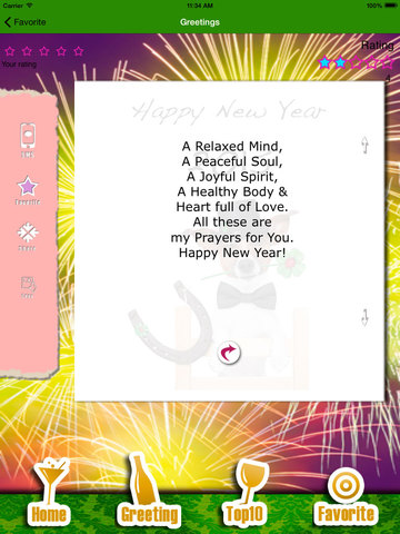 Happy New Year - Best wishes for 2017 screenshot 8