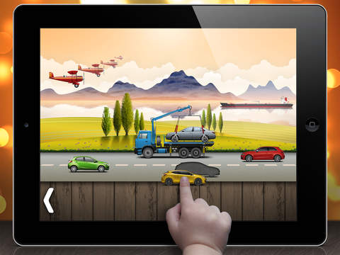 On the road - puzzle for toddlers and kids screenshot 3
