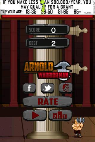 Arnold Warrior Man - Super Lumberjack of Timber Wa - náhled