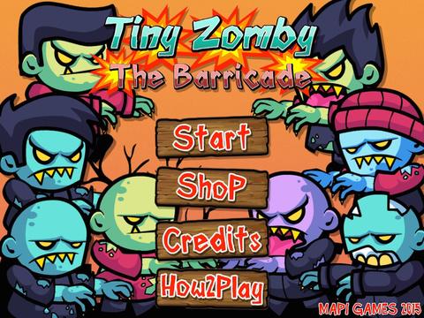 Tiny Zombies The Barricade Free screenshot 6