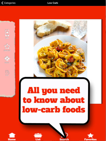 Low Carb Food List - Foods with almost no carbohydrates screenshot 9