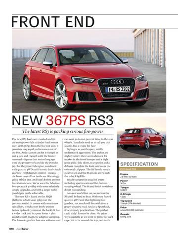 Performance Audi Magazine screenshot 5