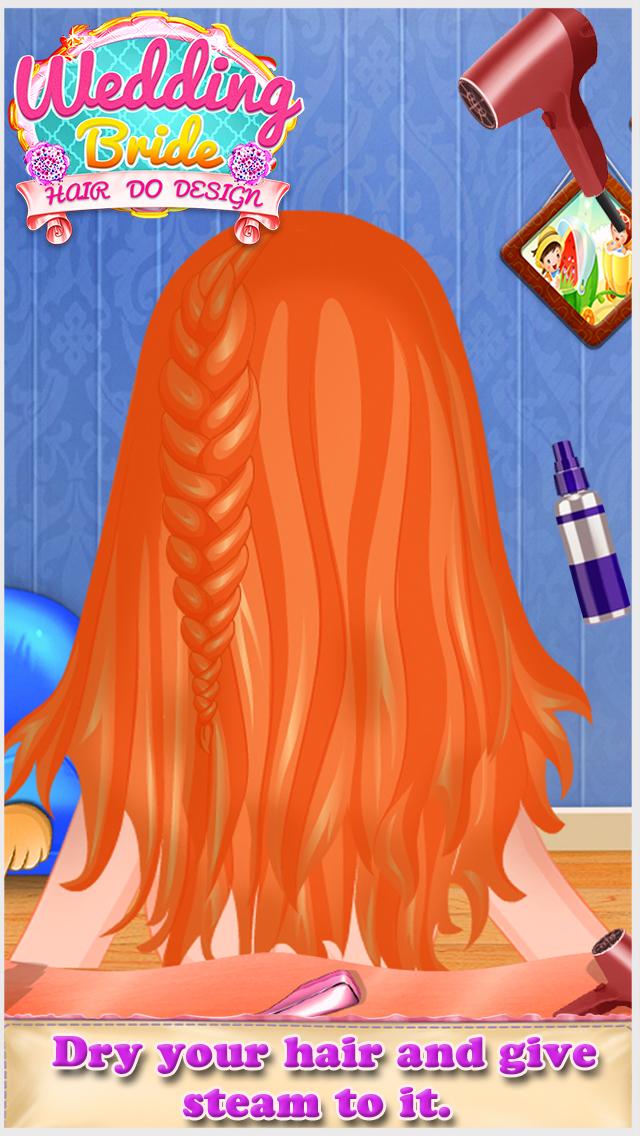 Wedding Bride Hair Do Design screenshot 1