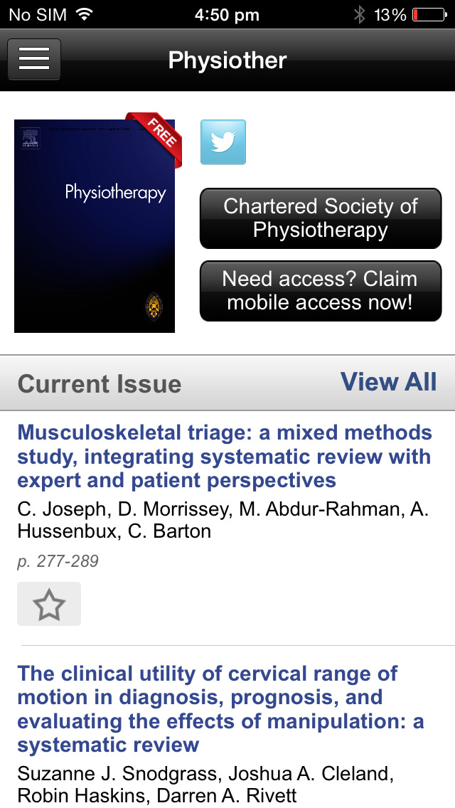 Physiotherapy screenshot 3