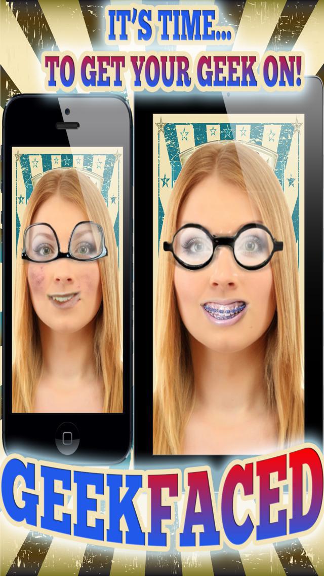 GeekFaced - The Geek & Nerd Photo FX Face Booth screenshot 4