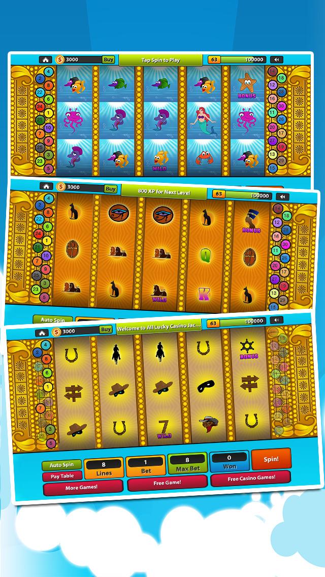 `Ace Lucky Casino Jackpot Gold Slots - Slot Machine with Blackjack, Solitaire, Roulette, Bonus Prize Wheel screenshot 4