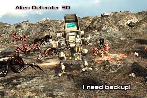 Alien Defender 3D - náhled