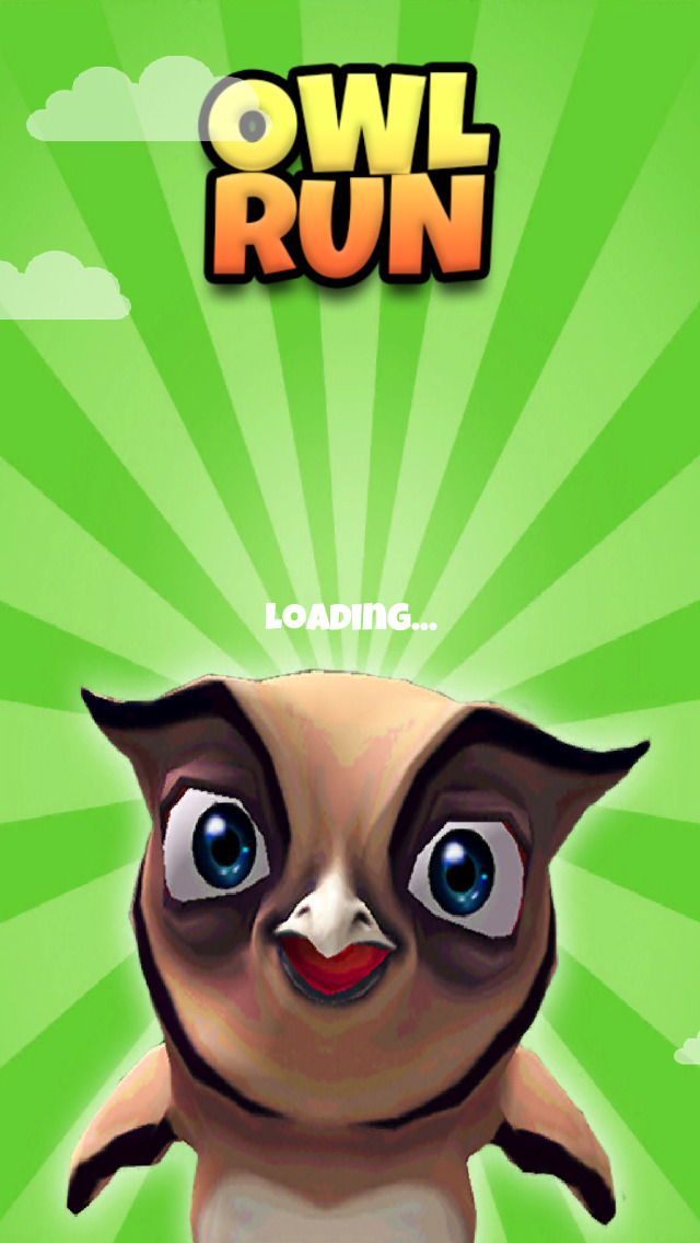 A Owl Run: 3D Bird Running Game - FREE Edition screenshot 5