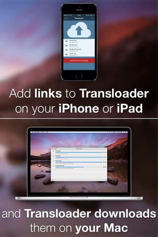 Transloader - náhled