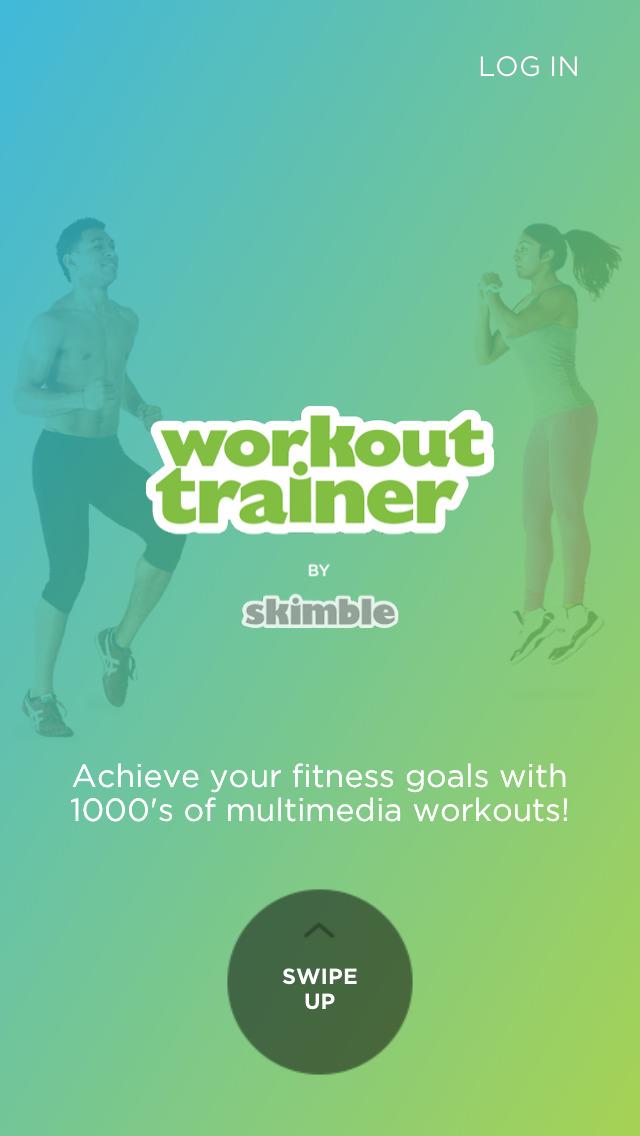 Workout Trainer: fitness coach screenshot 1