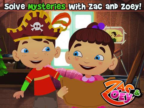 Zac and Zoey - The Hunt for the Secret Treasure (Premium) screenshot 10