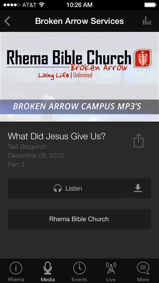 Rhema USA screenshot 3