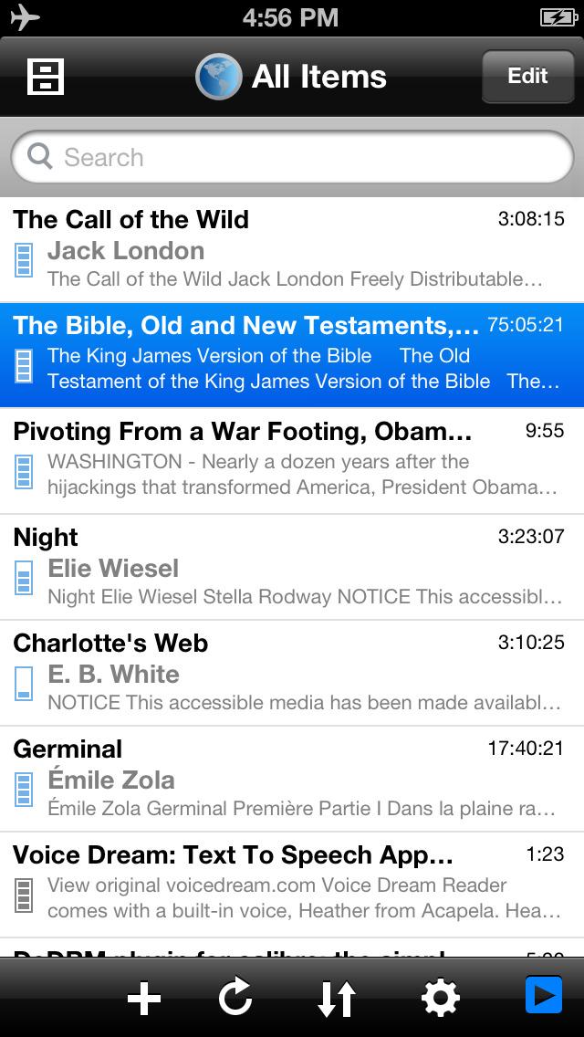 Voice Dream Reader Lite screenshot 5