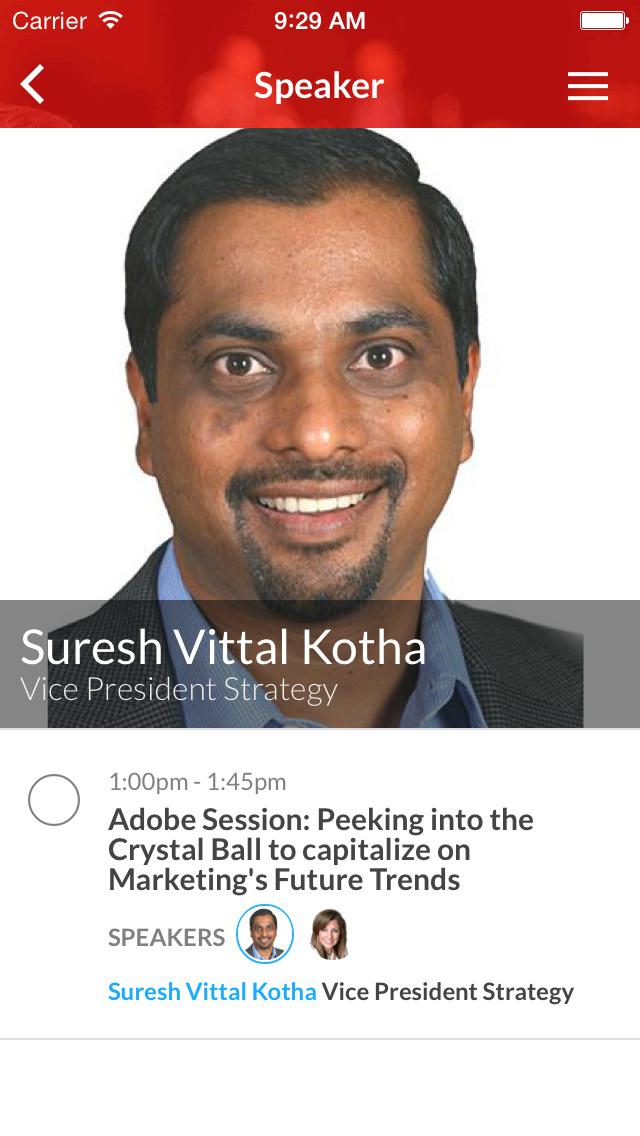Adobe Strategic Events screenshot 3
