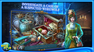 Shadow Wolf Mysteries: Under the Crimson Moon - A Hidden Object Mystery Adventure screenshot 2