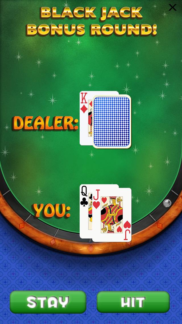 `Lucky Gold Vegas 777 Slots - Slot Machine with Casino 21 Blackjack, Prize Wheel screenshot 2