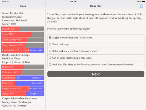 Choice of the Rock Star screenshot 8