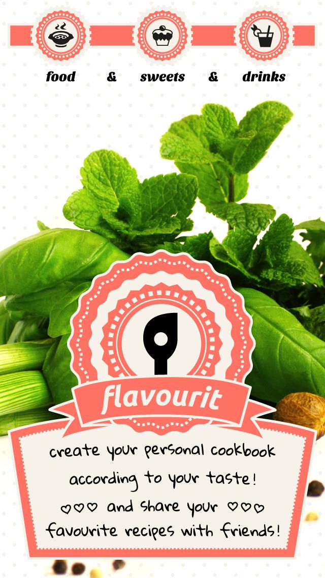 flavourit - my cookbook screenshot 1