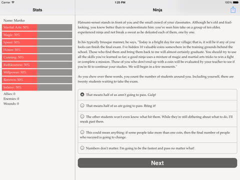 Choice of the Ninja screenshot 7