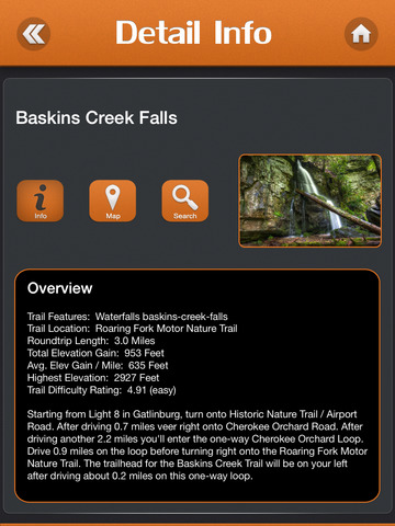 Hiking - Great Smoky Mountains National Park screenshot 8