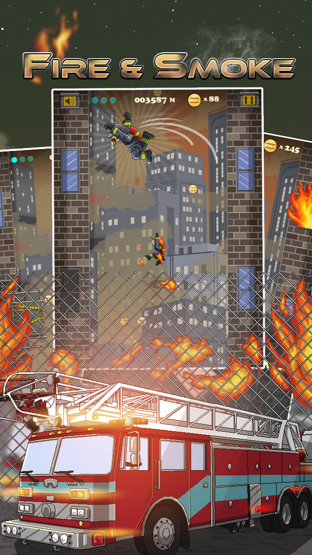 Fire & Smoke - Infernal Burning House Climber Game screenshot 1