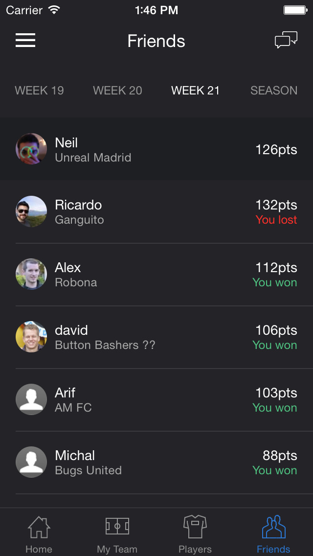 Fantasy Soccer - Build your ultimate soccer team screenshot 4