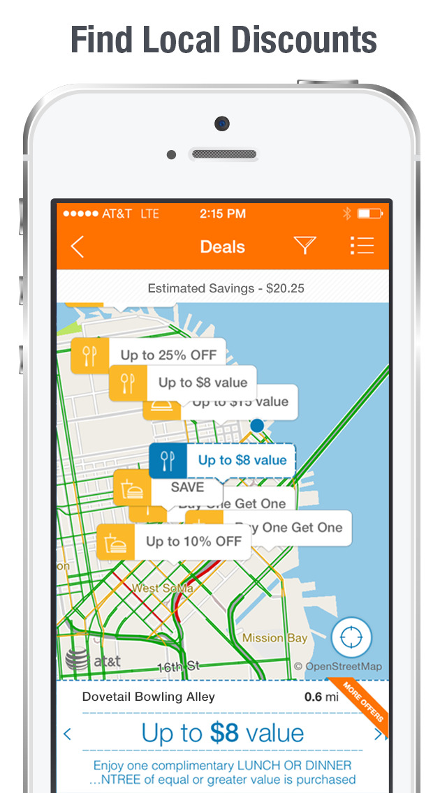 AT&T Navigator: Maps & Traffic screenshot 1