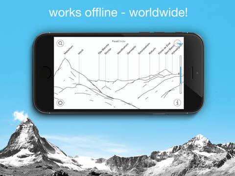 PeakFinder AR screenshot 4