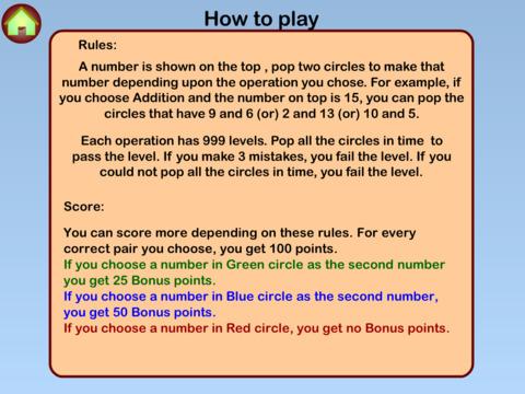 Math Rush Lite screenshot 9