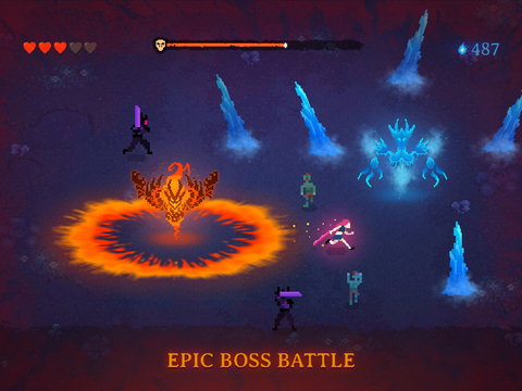 Dark Slash: Hero - Endless road to survival screenshot 7