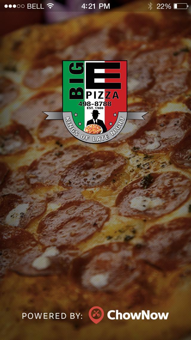 Big E Pizza screenshot 1
