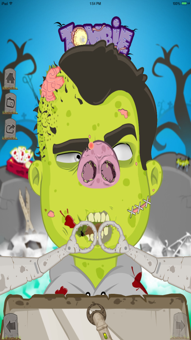 Zombie Nose Surgery - Lite screenshot 4