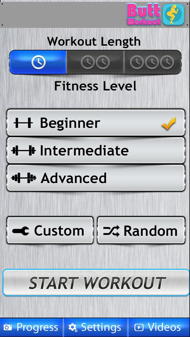 Butt Workout FREE HD - Aerobic Exercises Thigh Leg screenshot 4