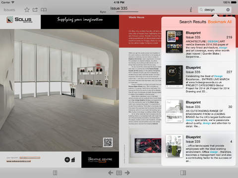 Blueprint Magazine screenshot #4