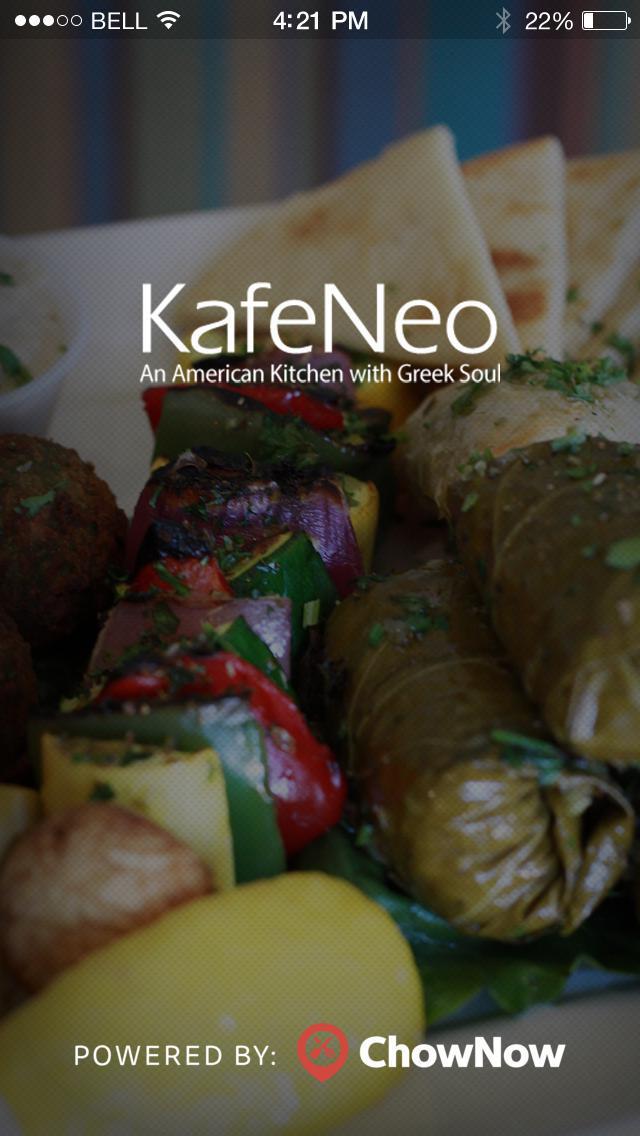 Kafe Neo screenshot 1