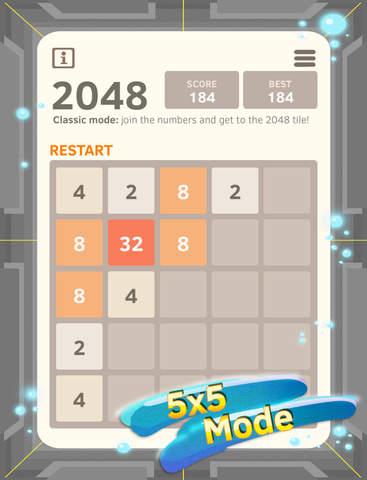 2048 Number Puzzle game screenshot 7