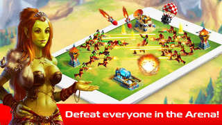 The Lord Of Orcs: cool online strategy and tactics with pvp and pve screenshot 2