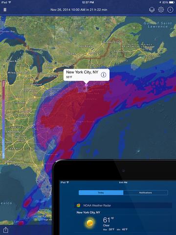 NOAA Weather Radar Live: Clime screenshot 10