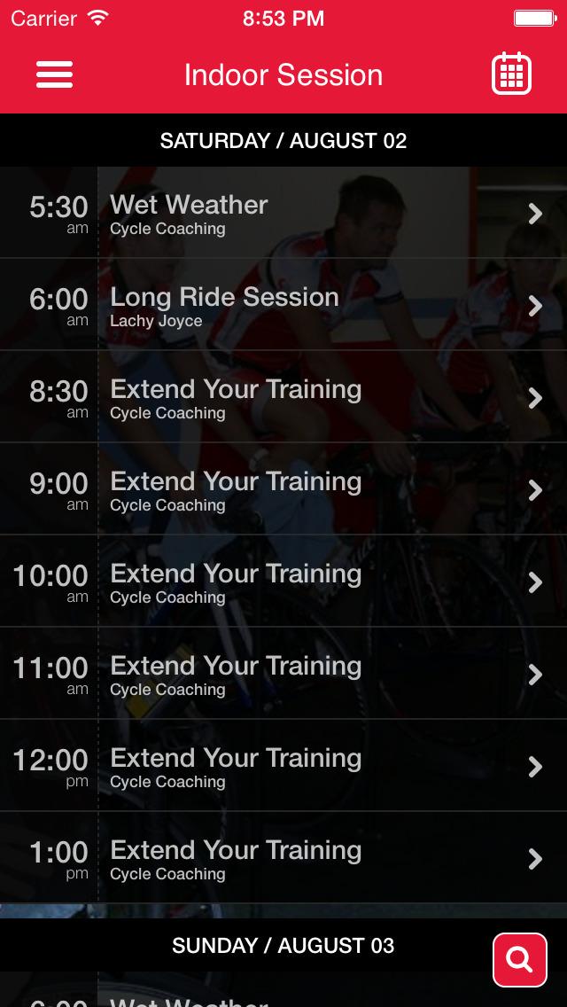 Cam's Cycle Coaching screenshot #2