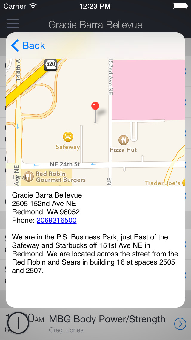 Gracie Barra Bellevue screenshot 3