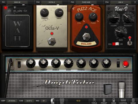 AmpliTube Hendrix™ for iPad screenshot 3