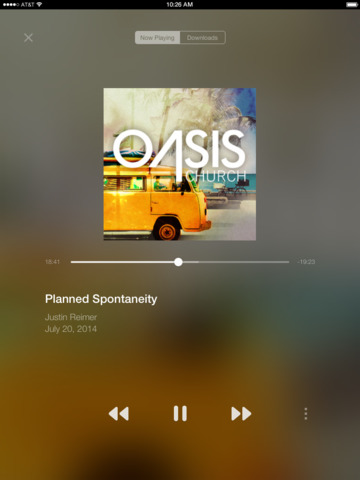 Oasis at Home screenshot 5