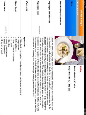 Dishes Europe screenshot 3