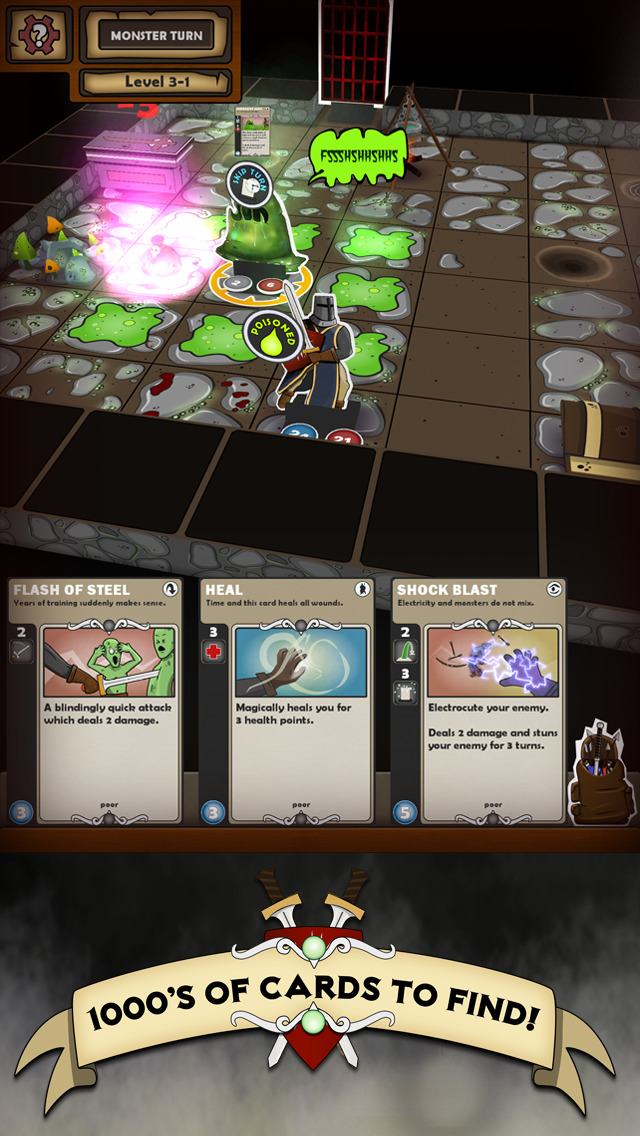 Card Dungeon screenshot 1