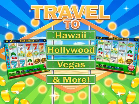 Ace Classic Vacation Slots Casino - Hawaii, Hollywood & Vegas Slot Machine Games HD screenshot 8